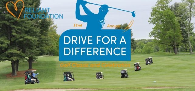 photo of golfers at Reliant's Drive For a Difference Golf Charity