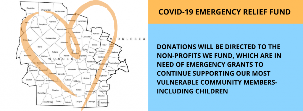 emergency Covid-19 funding for Central and Metrowest MA