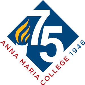 logo for Anna Maria College